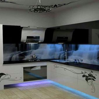 Virtuvės bėginio metro kaina prasideda nuo 300 eur