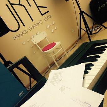 Kaip mes atrodome viduje:) Urtės privataus dainavimo studija