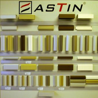 """<p>Slenkamų durų sistemos profiliai (apvadai) """"Astin""""</p>"""