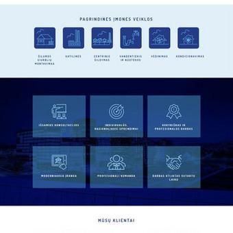 Įmonės, teikiančios inžinerinių tinklų įvedimo, kondicionavimo, vėdinimo paslaugas, internetinė svetainė - www.vandoras.lt