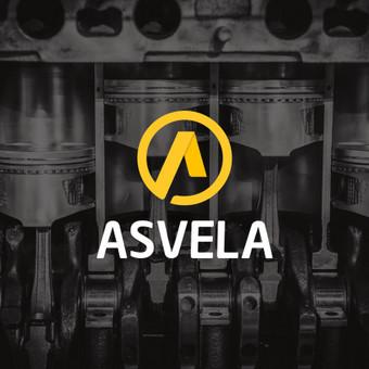 """UAB """"Asvela"""" įmonės logotipas"""
