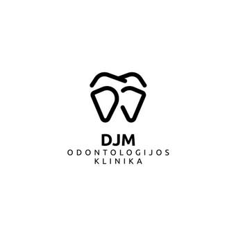 DJM odontologijos klinika - Dariaus ir Juditos Mažučių odontologijos klinika     Logotipų kūrimas - www.glogo.eu - logo creation.