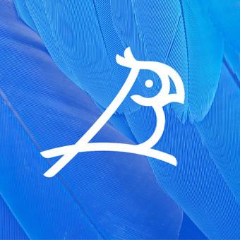 Bluebird       B + Bird + Parrot       For fun      Logotipų kūrimas - www.glogo.eu - logo creation.