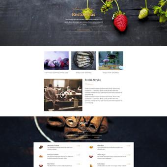 #1 Interneto svetainių, bei parduotuvių kūrimas,  SEO / Jonas Urbonas / Darbų pavyzdys ID 587465