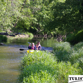 Baidarių nuoma Jūros upe, populiariasi baidarių maršrutai su Turistauk.lt