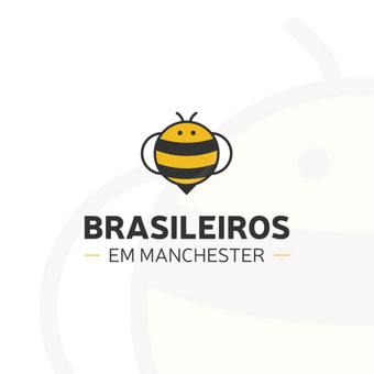 Logotipas Mančesterio brazilų bendruomenei