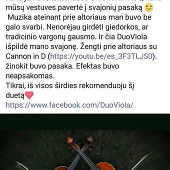 DuoViola duetas / Laimis Krunglevičius / Darbų pavyzdys ID 589101