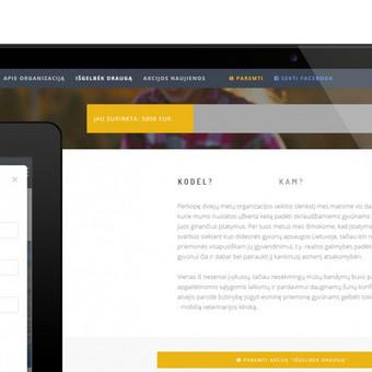 Reprezentacinė svetainė (WWW.ISGELBEK-DRAUGA.LT)