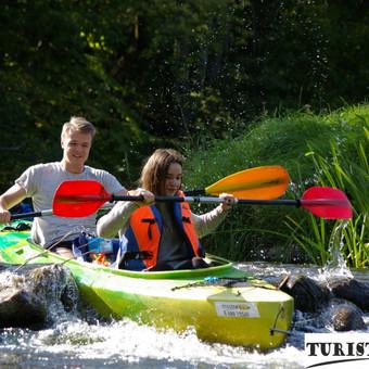 Smagūs Jūros upės slenkstukai, mėgstamiausi baidarių maršrutai su Turistauk.lt