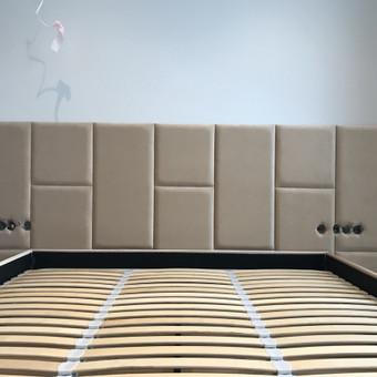 Minkštos 3D sienų plokštės, lovos, galvūgaliai / Gražvydas / Darbų pavyzdys ID 590489