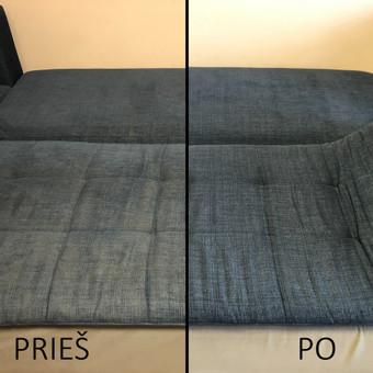 Minkštų baldų valymas Panevėžyje / Arnoldas Černauskas / Darbų pavyzdys ID 591341