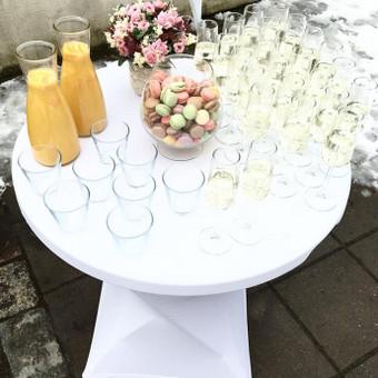 Šventė Stilingai - vaišių/šampano staliukas + aptarnavimas / Gabrielė Venckūnaitė / Darbų pavyzdys ID 591757