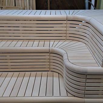 Pirties apdailos mediena, gultai, įrengimas ir aksesuarai / Kristina Adomaitytė / Darbų pavyzdys ID 591929