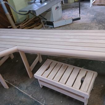 Pirties apdailos mediena, gultai, įrengimas ir aksesuarai / Kristina Adomaitytė / Darbų pavyzdys ID 591933