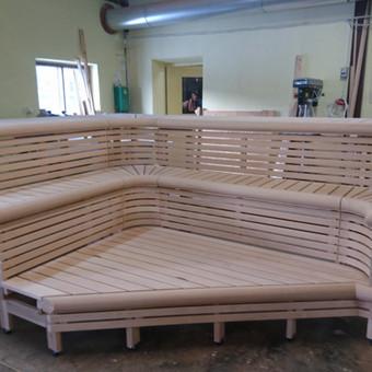 Pirties apdailos mediena, gultai, įrengimas ir aksesuarai / Kristina Adomaitytė / Darbų pavyzdys ID 591935