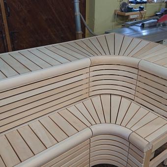 Pirties apdailos mediena, gultai, įrengimas ir aksesuarai / Kristina Adomaitytė / Darbų pavyzdys ID 591937