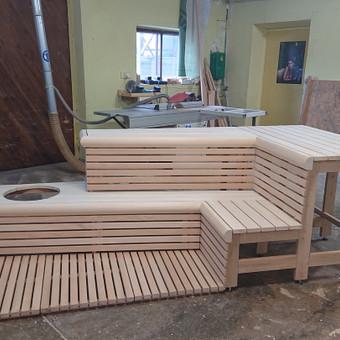 Pirties apdailos mediena, gultai, įrengimas ir aksesuarai / Kristina Adomaitytė / Darbų pavyzdys ID 591939