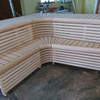 Pirties apdailos mediena, gultai, įrengimas ir aksesuarai / Kristina Adomaitytė / Darbų pavyzdys ID 593481