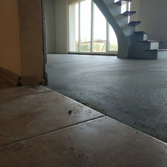 Grindų betonavimas / Šildomų grindų betonavimas / Dangiras / Darbų pavyzdys ID 593675