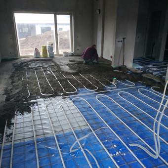 Grindų betonavimas / Šildomų grindų betonavimas / Dangiras / Darbų pavyzdys ID 593687