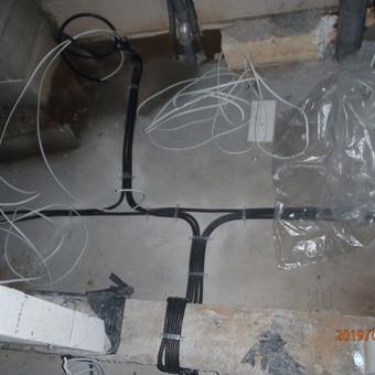 Elektros montavimo darbai. / Marius Ž. / Darbų pavyzdys ID 594443
