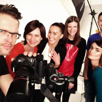 """Video interviu projektas """"Žymūs vyrai apie moteris"""". Vienas iš herojų - žymus fotografas Gediminas Žilinskas."""