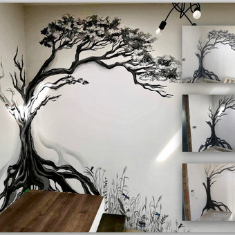 Piešiniai ant sienų/sienų tapyba / Laura Jakutiene / Darbų pavyzdys ID 595677