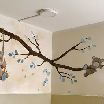 Piešiniai ant sienų/sienų tapyba / Laura Jakutiene / Darbų pavyzdys ID 595687