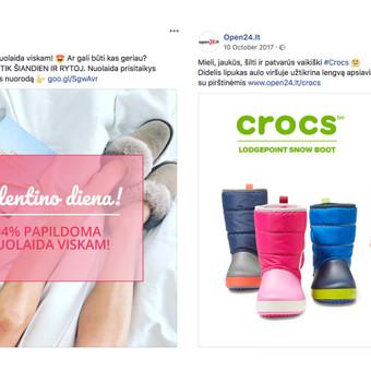 Reklama internete - Facebook, Instagram / Austė Musteikytė / Darbų pavyzdys ID 596299