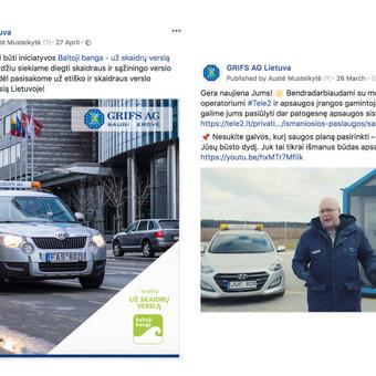 Reklama internete - Facebook, Instagram / Austė Musteikytė / Darbų pavyzdys ID 596301
