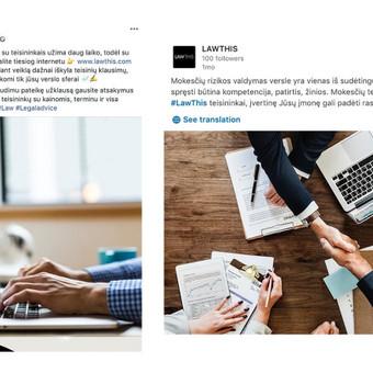 Reklama internete - Facebook, Instagram / Austė Musteikytė / Darbų pavyzdys ID 596331