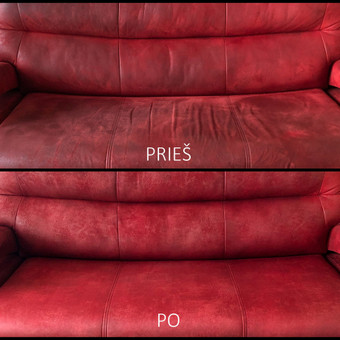 Minkštų baldų valymas Panevėžyje / Arnoldas Černauskas / Darbų pavyzdys ID 596457
