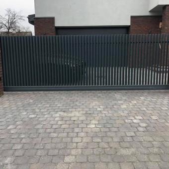"""Visų tipų tvoros ir vartai. Projektavimas, gamyba-montavimas / UAB """"Tvoras"""" / Darbų pavyzdys ID 598233"""