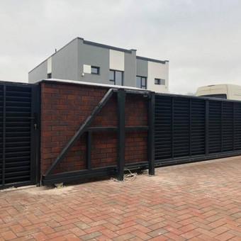 """Visų tipų tvoros ir vartai. Projektavimas, gamyba-montavimas / UAB """"Tvoras"""" / Darbų pavyzdys ID 598239"""