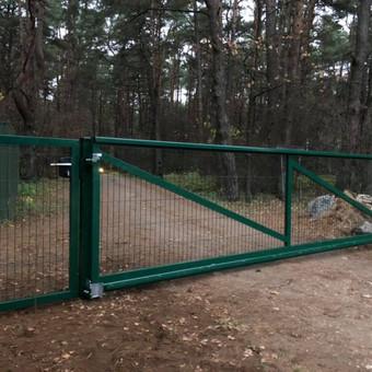 """Visų tipų tvoros ir vartai. Projektavimas, gamyba-montavimas / UAB """"Tvoras"""" / Darbų pavyzdys ID 598245"""