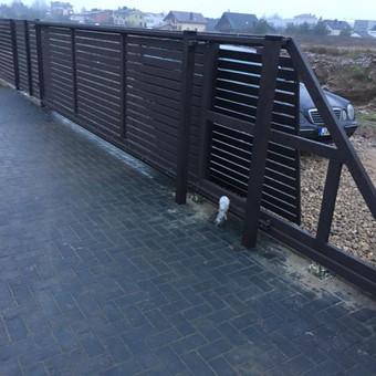 """Visų tipų tvoros ir vartai. Projektavimas, gamyba-montavimas / UAB """"Tvoras"""" / Darbų pavyzdys ID 598265"""