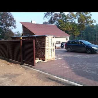 """Visų tipų tvoros ir vartai. Projektavimas, gamyba-montavimas / UAB """"Tvoras"""" / Darbų pavyzdys ID 598315"""