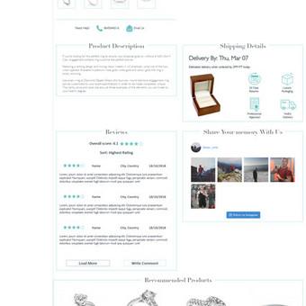 Svetainių kūrimas, el. parduotuvių kūrimas / Linas Žemgulys / Darbų pavyzdys ID 598445