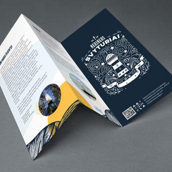 Skrajučių, reklaminių bukletų, brošiūrų ir lenkstinukų dizainas ir maketavimas / Nuo 99 eur už projektą / Dizaino studija - www.baltaideja.lt