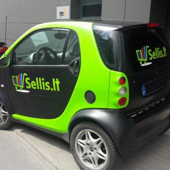 Reklama ant transporto – puiki reklamos forma. Kreipkitės ir mūsų specialistai padės Jums apipavidalinti judančią reklamą. Papasakosime apie naujausias technologijas, patarsime ir pakonsultu ...