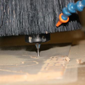 """Frezavomo (CNC staklėmis) paslaugos, MDF plokštės apdirbimas / UAB """"Komforto sprendimai"""" / Darbų pavyzdys ID 599293"""