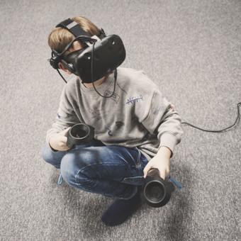 Virtualios erdvės patalpų fotografija