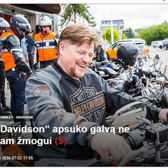 Harley Davidson viešųjų ryšių pagalba pakeitė pirkėjų nuomonę, kad tai labai brangus motociklas.