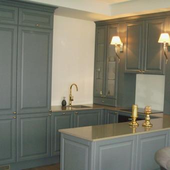 """Virtuvės baldai. Vonios baldai. Akmuo. UAB """"Forestė"""" / Dizainerė Audronė Baldai-Interjeras / Darbų pavyzdys ID 600547"""