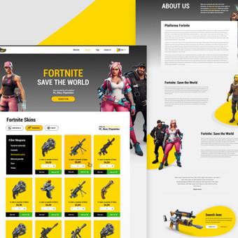 Interneto svetainių dizaineris, kūrėjas / Darius Buikus / Darbų pavyzdys ID 600633