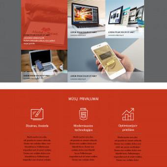 Internetinio puslapio dizainas