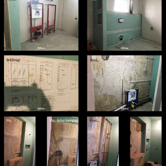 Apdailos ir montavimo darbai (Kaunas) / RKline - Construction / Darbų pavyzdys ID 602073