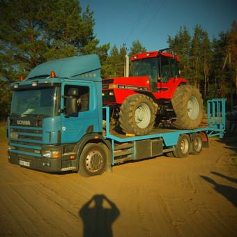 Krovinių gabenimas tech. pagalba iki 17t / Ignas Skučas / Darbų pavyzdys ID 602593