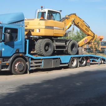 Krovinių gabenimas tech. pagalba iki 17t / Ignas Skučas / Darbų pavyzdys ID 602595