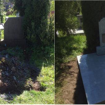 Kapų tvarkymas, priežiūra, restauravimas / Jonas Baršauskas / Darbų pavyzdys ID 605279